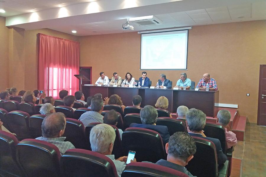 Agricultores aplauden la propuesta del PP andaluz de crear una comisión de trabajo para la problemática del agua del Condado