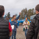El Fresno muestra a agricultores y técnicos franceses su apuesta por el riego sostenible