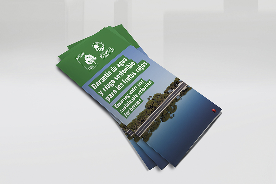Editamos un tríptico con nuestras infraestructuras e información esencial para los comuneros