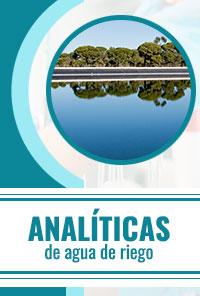 Analíticas de agua de riego